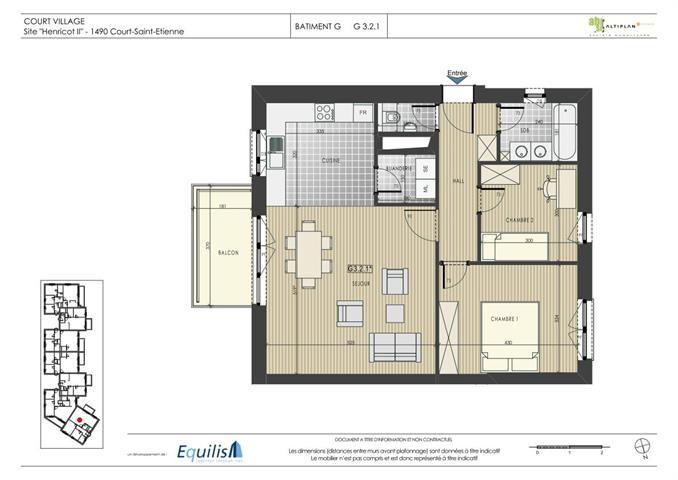 Appartement - Court-Saint-Etienne - #2071908-0