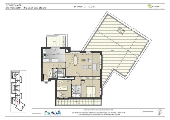 Appartement - Court-Saint-Etienne - #2071909-0