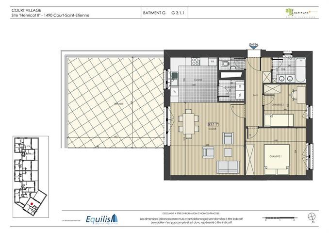 Appartement - Court-Saint-Etienne - #2071939-0