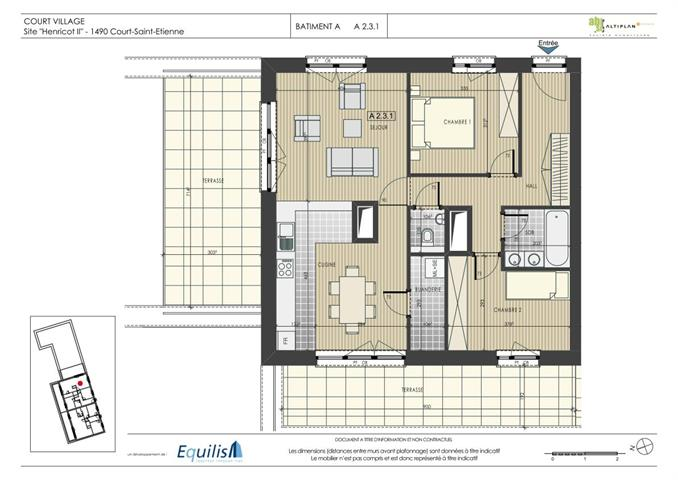 Appartement - Court-Saint-Etienne - #2079017-0