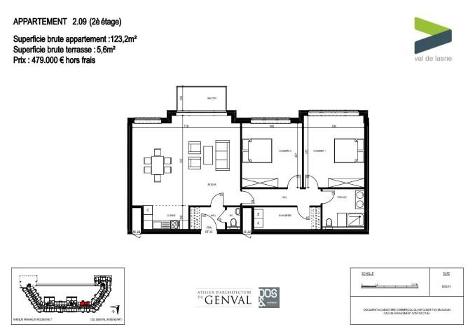 Appartement - Genval - #2285395-11