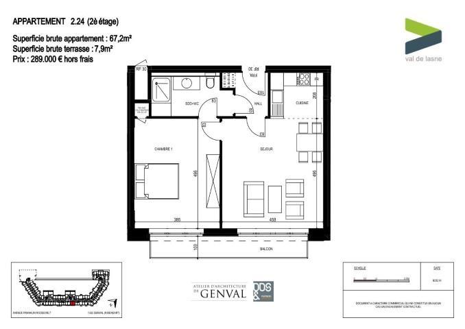 Appartement - Genval - #2285410-11