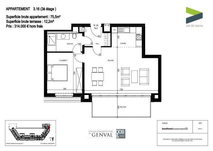 Appartement - Genval - #2285432-8