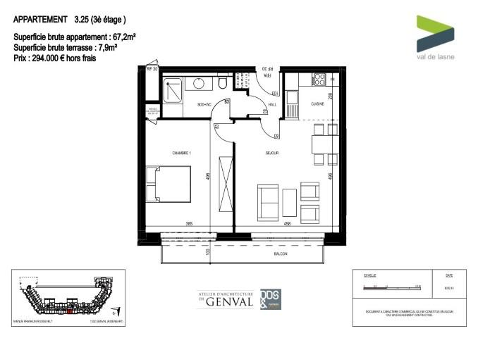 Appartement - Genval - #2285435-8