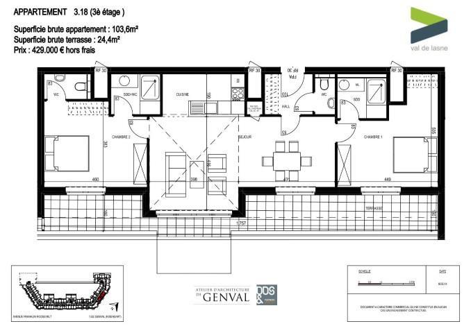 Appartement - Genval - #2285452-8