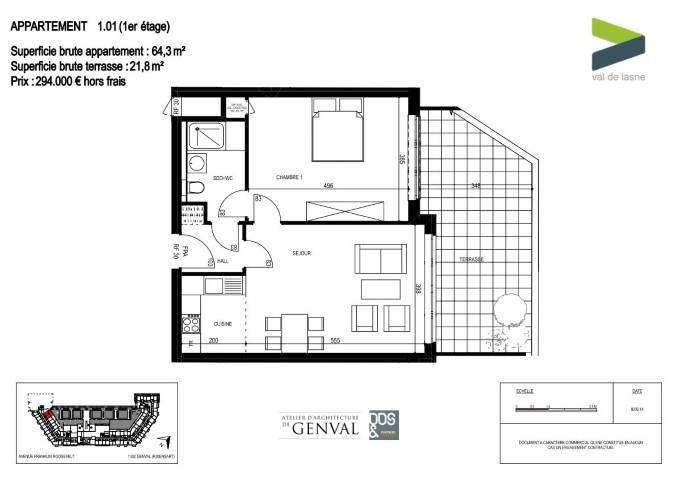 Appartement - Genval - #2285464-0