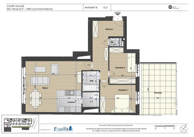 Appartement - Court-Saint-Etienne - #3171630-10