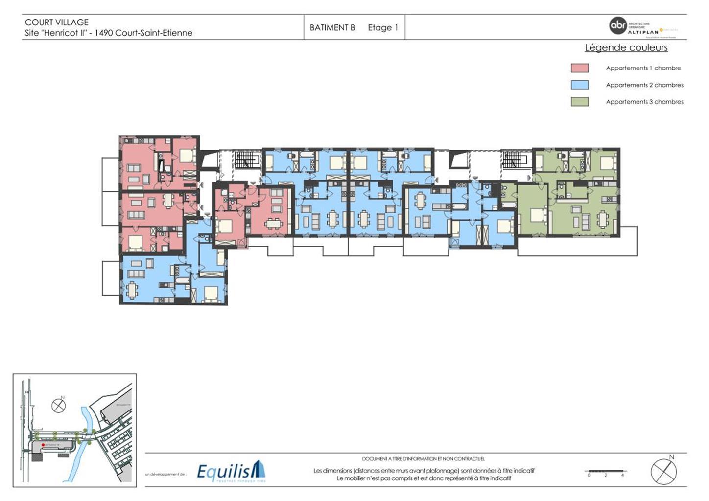 Appartement - Court-Saint-Etienne - #3171660-6