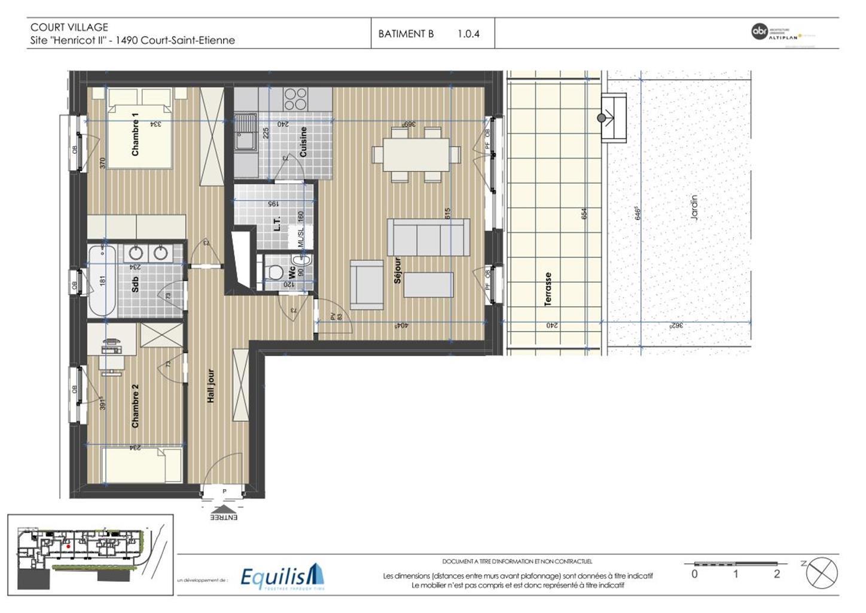 Appartement - Court-Saint-Etienne - #3171660-5