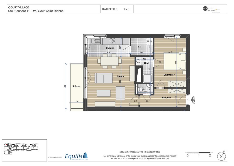 Appartement - Court-Saint-Etienne - #3171783-5