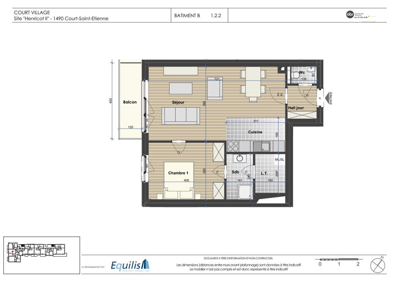 Appartement - Court-Saint-Etienne - #3171785-5
