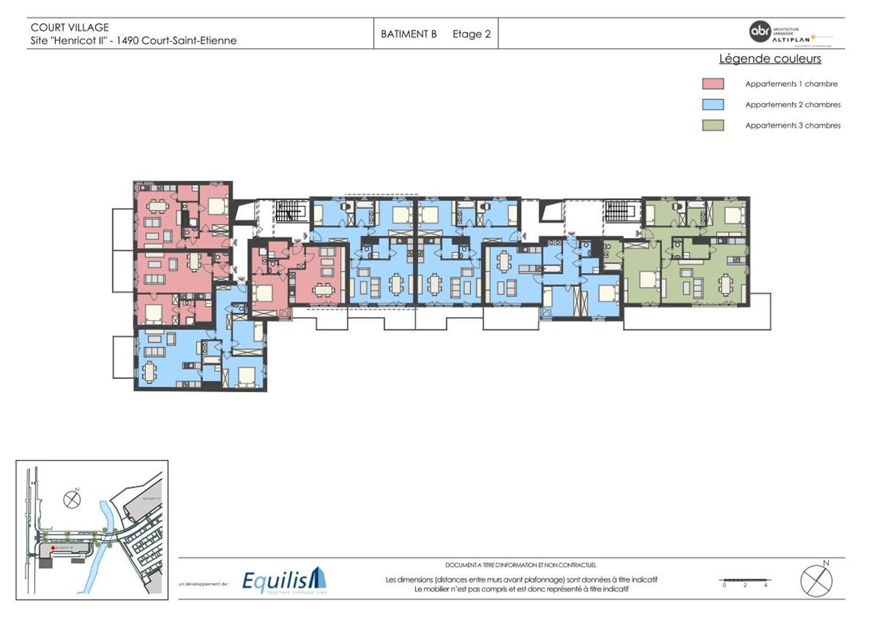 Appartement - Court-Saint-Etienne - #3171785-6