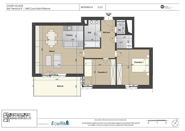 Appartement - Court-Saint-Etienne - #3171795-5