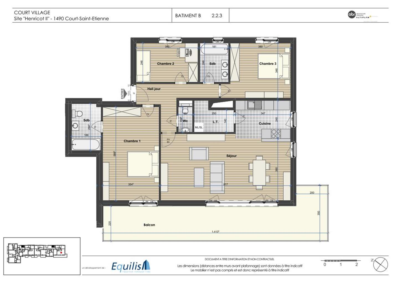 Appartement - Court-Saint-Etienne - #3171796-4